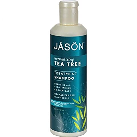 Jason Natural Products Tea Tree Oil Shampoo Hair & Scalp Therapy 517 ml by Jason Natural Products