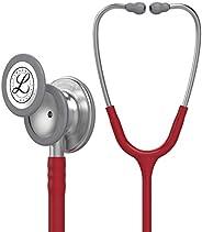 3M Littmann Classic III Monitoring Stethoscope, Burgundy Tube, 27 inch, 5627
