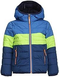 Killtec Jungen Hipsy Mini Jacke in Daunenoptik / Winterjacke mit Kapuze