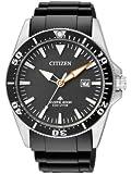 Citizen Herren-Armbanduhr XL Promaster Sea Eco-Drive Diver Analog Kautschuk BN0100-00E
