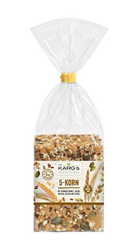 Dr. Karg 5-Korn Feinschmecker-Knäckebrot, 5er Pack (5 x 200 g) (Gerste Tee)