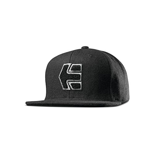 Etnies Fielders Snapback Cap One Size Black