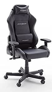 Robas lund 62503sn6 dx racer chaise de gaming fauteuil de for Chaise x racer