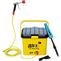 Portable Electronic Car Cleaner And Washer - 16 Litre Capacity 12v Dc Operations