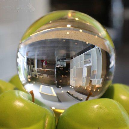 GUANGMING77 K9 Crystal Ball Dekoration Glas Farbe Kugel 30-200 Mm, K 9,80