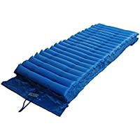 Roscloud@ Double Layer Special Anti-Decubitus Turned Medical Air Mattress-Include Inflable Pump (Blue)