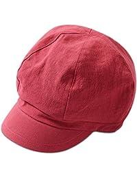 ab060739c618d DORRISO Moda Gorra Boina Mujer Primavera Otoño Invierno Viajar Vacaciones  Compras Ocio Beret Gorra de Boina