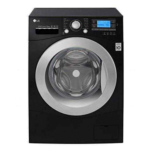LG FH495BDN8 DirectDrive 12kg 1400rpm Freestanding Washing Machine-Black