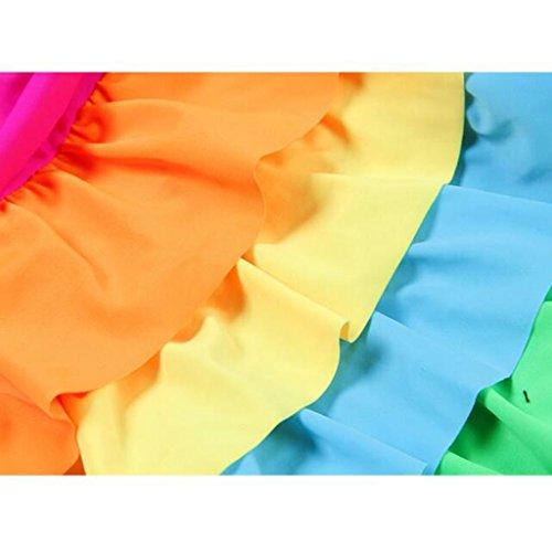 Mädchen Verkauf Kostüm Schwimmen - SUNNY Kleine Mädchen Bademode Kinder Ein Stück Strandkleidung Urlaub Schwimmen Kostüm ( größe : 1-L(105-115CM) )