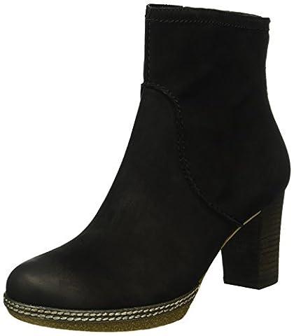 Gabor Shoes 52.870 Damen Halbschaft Stiefel, Schwarz (Schwarz (micro) 47), 40 EU (6.5 Damen UK)