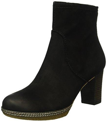 Gabor Shoes Comfort Sport, Stivaletti Donna Nero (Schwarz micro)
