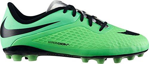 Nike JR Hypervenom Phelon AG Stivali Lima/Negro