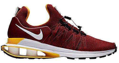 Nike Mens Shox Gravity Shoes (9, Red/White)