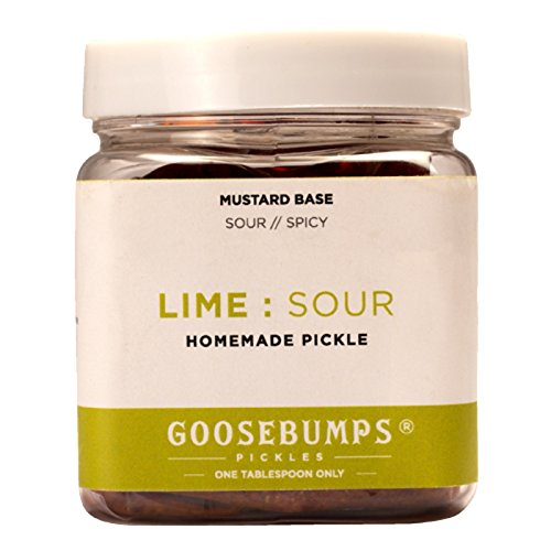 Goosebumps Homemade Lime Sour Pickle 250g