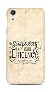 Amez Simplicity is the best form of Efficency Back Cover For HTC Desire 626 G