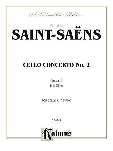 Cello Concerto No. 2, Opus 119: For Cello and Piano (Kalmus Edition) (English Edition) PDF Books