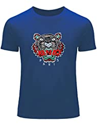 Pop KENZO Printed For Men's T-shirt Tee Outlet