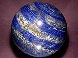 Spiritual Elementz Reiki Bola de lapislázuli de curación de Gemas de Cristal de lapislázuli 40 - 50 mm