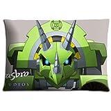 40,6x 61cm 40x 60cm Chambre à coucher Taie d'oreiller Coques Polyester Coton Ultra doux Plus Bas Prix Transformers Rescue Bots