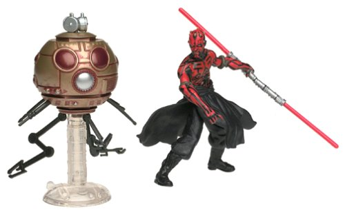 Hasbro Darth Maul with Sith Attack Droid - Star Wars Power of the Jedi Collection