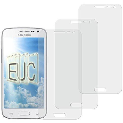 3 x Displayschutzfolie matt/entspiegelnd für Samsung Galaxy Core LTE SM-G386F