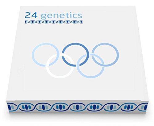 24Genetics - Sport-DNA-Test - Gentest für sportliche Leistung - Beinhaltet ein Set für die Abstrichentnahme zu Hause