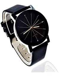 NUBELA Analogue Prizam Glass Black Dial Girl's Watch