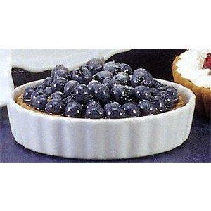 BIA Cordon Bleu Inc 900075 12,1 cm Blanc rond plat à quiche en porcelaine