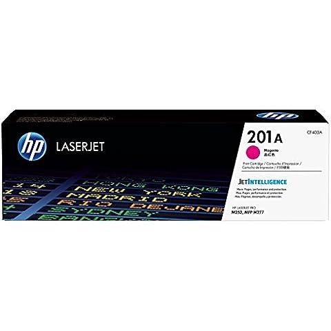 HP 201A - Tóner para impresoras láser, color magenta