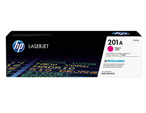 HP CF403A 201A Cartuccia Laser, Magenta