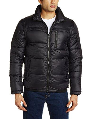 Jack jones cOREY & veste d'hiver pour homme Noir - Noir