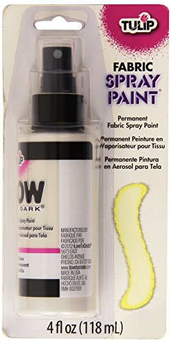 ulip Stoff Spray Paint 4oz-Glow in The Dark, andere, Mehrfarbig ()