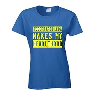 Robert Arboleda Ecuador Soccer Player Makes My Heart Throb T Shirt Large