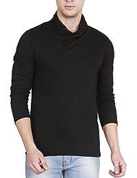 Fanideaz Men's Cotton Full Sleeve Classic Unique V Neck T Shirt