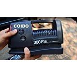 Coido 3301 12V Tyre Inflator Car Air Compressor