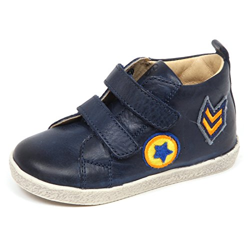 E5984 Sneaker Bimbo blu Falcotto Scarpe Strappi primi passi Shoe Baby Boy [22]