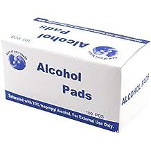 Babysbreath17 Las Parejas Hombres Mujeres Sexo Gamuza con Alcohol Pads Wipes Pieza Wipe Limpieza de la