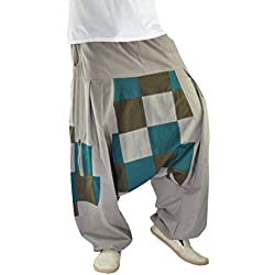 virblatt pantalones harem pantalones arabes ropa boho pantalon palazzo pantalon hippie estilo bohemio chic Fünftes Element