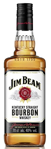 Jim Beam Weiß Kentucky Straight Bourbon Whisky 40% Vol (1 x 0.7 l)