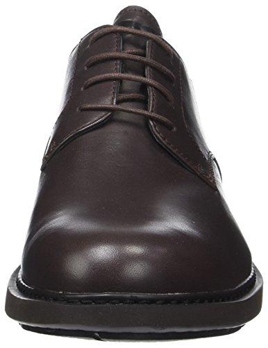 Neuman Camper, Zapatos Oxford Para Hombre Marrón (marrón Oscuro 200)