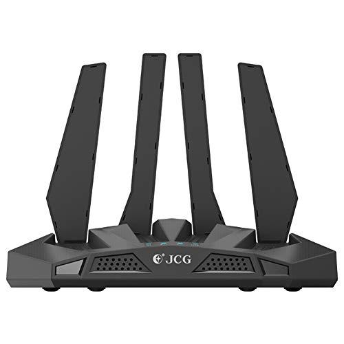 JIANG WiFi-Router, Gigabit-Dualband-WLAN-Router Home High-Speed-High-Power-Wand-zu-Wand-König, kann auf einige VR-Geräte angewendet Werden