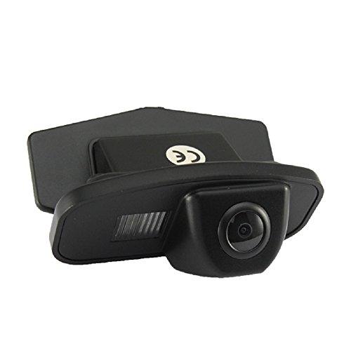 Caméra de Recul Voiture en Couleur Kit Caméra vue arrière de voiture Imperméable IP67 avec large Vision Nocturne pour Honda Jade 13 Fit Hatchback 08/11 Crosstour 11/12 Odyssey 08/11/13 CRV 10