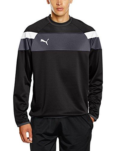 PUMA Herren Sweatshirt Spirit II Training Sweat black-White, XL -