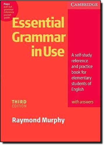 Essential Grammar in Use with Answers: A Self-Study Reference and Practice Book for Elementary Students of English by Murphy, Raymond (2007) Paperback