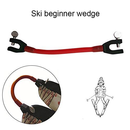 Schildeng 2 STÜCKE Ski Tip Connector Set, Kompaktes, exzellent elastisches Tip Connector Fixer Perfekt für Skianfänger