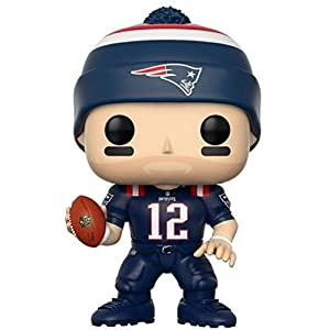 NFL Figura de vinilo Tom Brady Patriots Color Rush Funko 20161