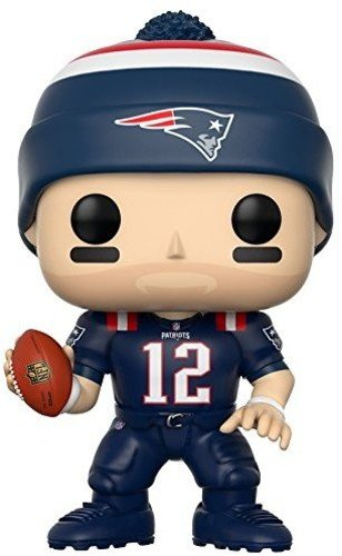 NFL Figura de Vinilo Tom Brady, Patriots Color Rush (Funko 20161)