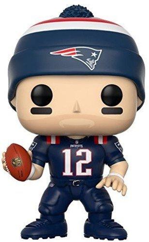 NFL Figura de vinilo Tom Brady Patriots Color Rush Funko 20161