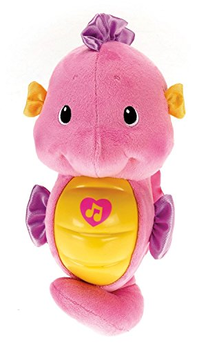 Image of Fisher-Price Soothe and Glow Seahorse, Pink