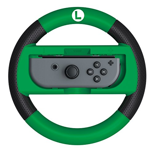 HORI Mario Kart 8 Deluxe Wheel Luigi Version